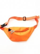 Neon Orange Bum Bag - 80's Costumes