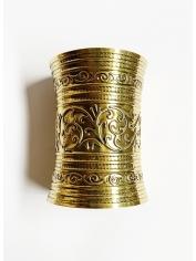 Medieval Fantasy Bronze Cuff Bracelet