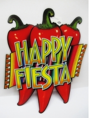 "Happy Fiesta Cut Outs 17"" Chilli"