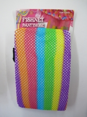 Rainbow Fishnet Stocking