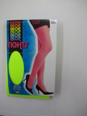 Neon Green Tights - Stocking