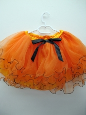 Orange Tutu - Costume Accessories