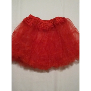 Red Crinoline Slip - Tutu