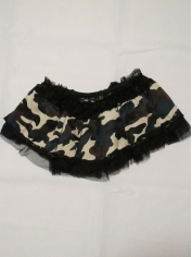 Army Camouflage Tutu - Costume Accessories