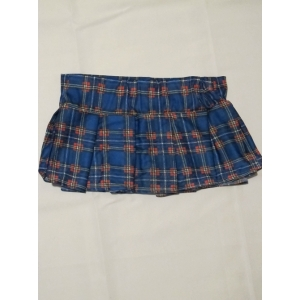 Blue School Gir Skirt - Womens Costume