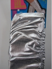 Silver Leg Warmer