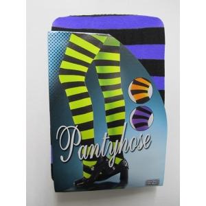 Purple Black Striped Pantyholes