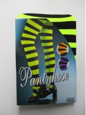 Green Black Striped Pantyholes
