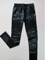 Metallic Black Leggings