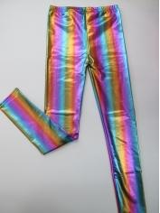 Metallic Rainbow Coloured Leggings