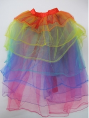 Deluxe Rainbow Tutu Bustle - Mardi Gras Costumes
