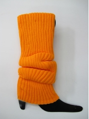 Orange Leg Warmers - 80s Costumes