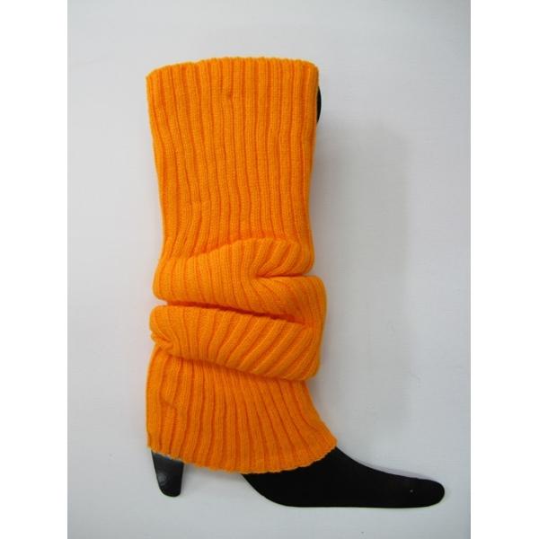 Orange Leg Warmers 80s Costumes