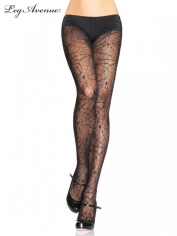 Spider Lace Pantyhose BLACK - Costume Stockings