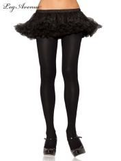 Nylon Tights Black - Leg Avenue Pantyhose and Tights