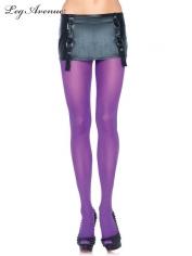 Nylon Tights Purple - Leg Avenue Pantyhose and Tights