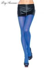 Nylon Tights Royal Blue - Leg Avenue Pantyhose and Tights