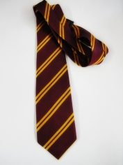School Tie Maroon Gold - Book Week Costumes