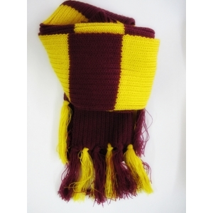 Maroon Gold Striped Scarf - Book Week Costumes