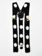 Dollar Sign Suspenders - Costume Accessories