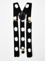 Dollar Sign Suspenders - Costume Accessories