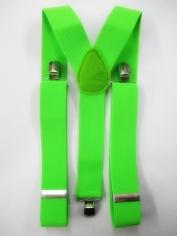 Green Suspenders - Costume Accessories