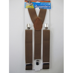 Oktoberfest Brown Suspenders