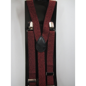 Red Shining Suspender
