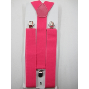 Hot Pink Suspenders