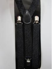 Black Shining Suspender