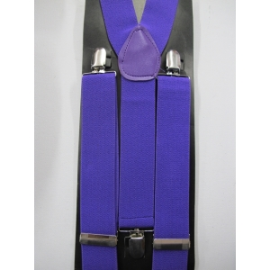 Purple Suspenders
