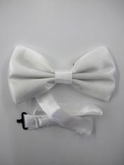 White Bow Tie - Costume Accessories