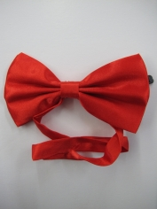 Red Bow Tie - Costume Accessories