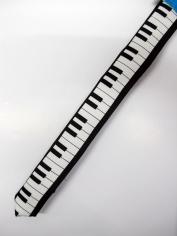 Piano Tie - Costume Accessories