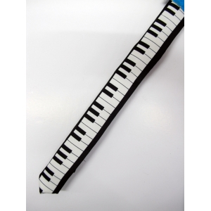 Piano Tie - Costume Accessories