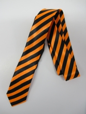 Yellow Stripe Tie - Costume Accessories