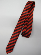 Red Stripe Tie - Costume Accessories