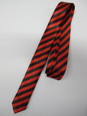 Red Stripe Tie - Costume Accessories