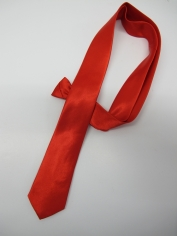 Red Skinning tie - Costume Accessories