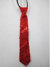 Red Sequin Tie