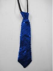 Blue Sequin Tie