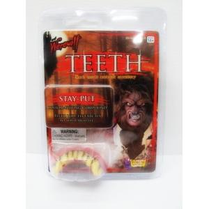 Deluxe Werewolf Teeth - Halloween Make Up