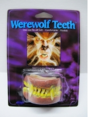 Werewolf Teeth - Halloween Make Up
