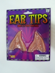 Brown Pointed Ear Tips - Make Up