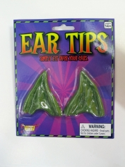Green Pointed Ear Tips - Make Up