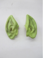 Green Ears - Halloween Makeup