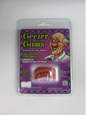 Geezer Gums Teeth - Halloween Makeup