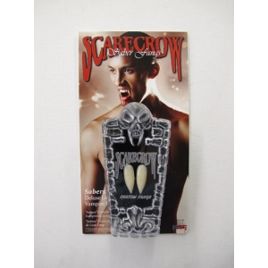 Scarecrow Inc Sabers Deluxe Long - Vampire Fangs