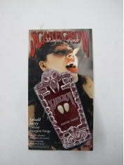 Scarecrow Small Sexy Deluxe - Vampire Fangs