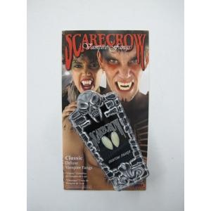 Scarecrow Inc Fangs Classic Custom - Halloween Make Up